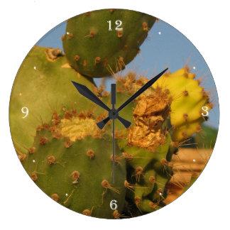 Cactus Photography Wall Clock