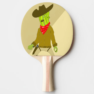 cactus ping pong paddle