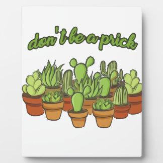 Cactus Plaque