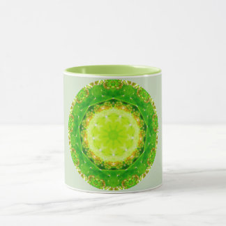 Cactus Prickle Trap Fractal Mug