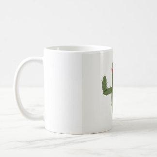Cactus princess coffee mug