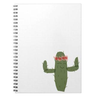Cactus princess notebook