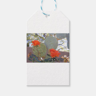 Cactus Rose Gift Tags