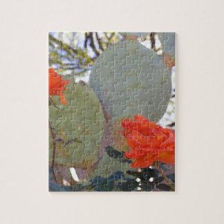 Cactus Rose Jigsaw Puzzle