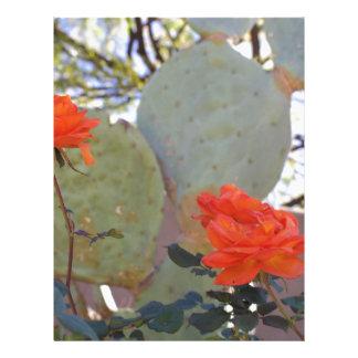 Cactus Rose Letterhead