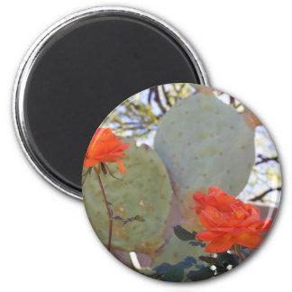 Cactus Rose Magnet