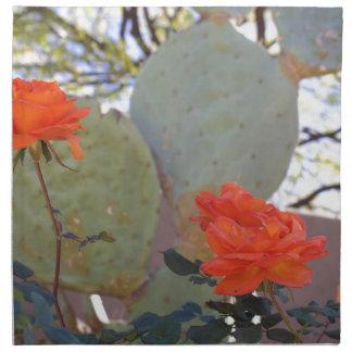 Cactus Rose Napkin