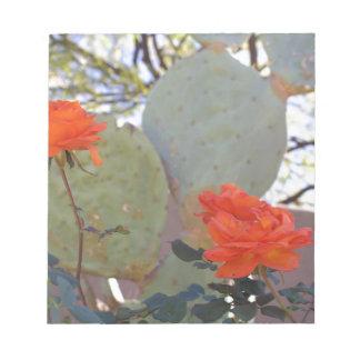 Cactus Rose Notepad