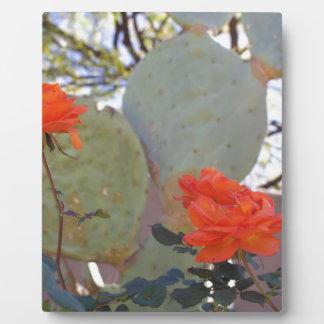 Cactus Rose Plaque