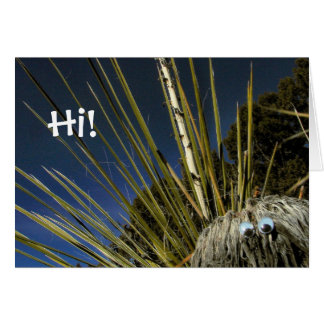 Cactus says Hi! Card