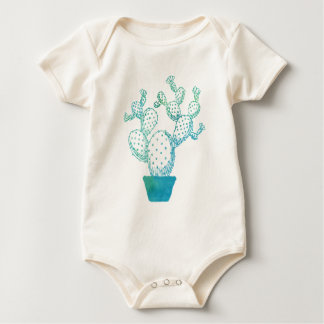 Cactus Seabed Wear Baby Bodysuit