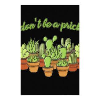 Cactus Stationery