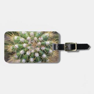 Cactus Top Luggage Tag