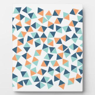 Cactus Triangles Plaque