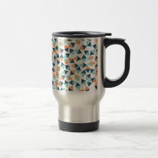 Cactus Triangles Travel Mug