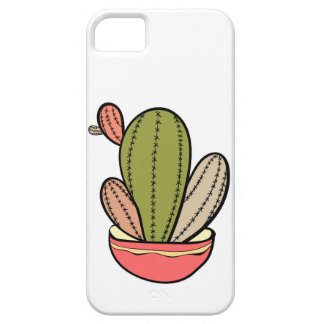 Cactus vector illustration. Hand drawn. Cactus pla iPhone 5 Covers