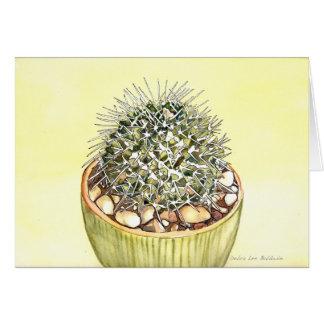 Cactus Watercolor by Debra Lee Baldwin Card