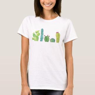 Cactus Watercolor Picture T-Shirt
