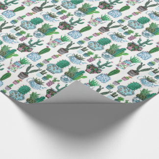 Cactus Western | Birthday | Wrapping Paper
