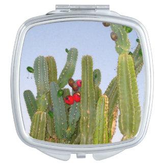 Cactus with Fruit Compact Makeup Mirrors