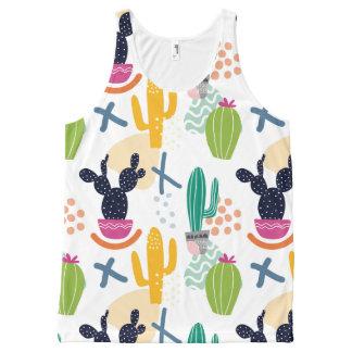 Cactus woman All-Over-Print tank top