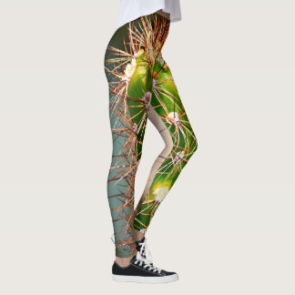 Cactus Women's Leggings in Green