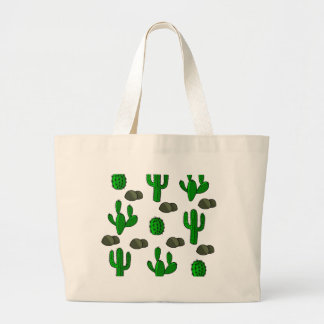 Cactuses 3 large tote bag