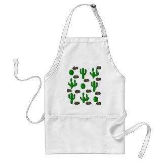 Cactuses 3 standard apron