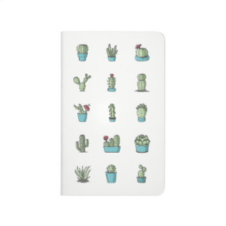 Cactuses and Succulents Pocket Journal