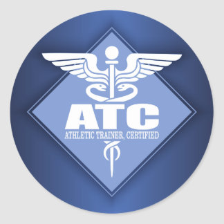 Cad ATC (diamond) Classic Round Sticker