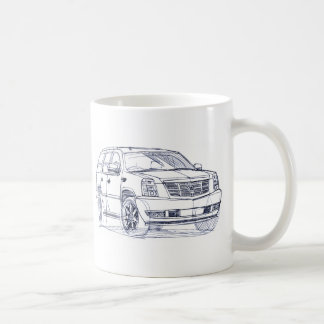 Cad Escalade rough 2007 Coffee Mug