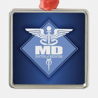 Cad MD (diamond) Metal Ornament