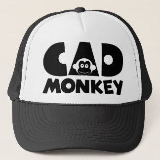 Cad Monkey Trucker Hat