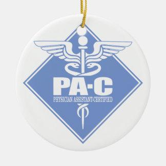Cad PA-C (diamond) Ceramic Ornament