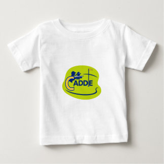 Caddie and Golfer Golf Course Icon Baby T-Shirt