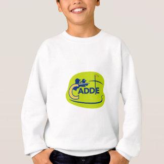 Caddie and Golfer Golf Course Icon Sweatshirt