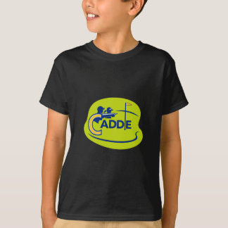 Caddie and Golfer Golf Course Icon T-Shirt