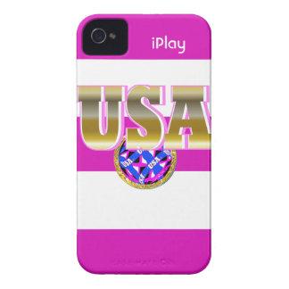 Cadeau 2012 de coque iphone de rose du football de coques iPhone 4