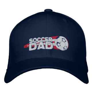 Cadeau de casquette brodé par papa du football casquettes brodées