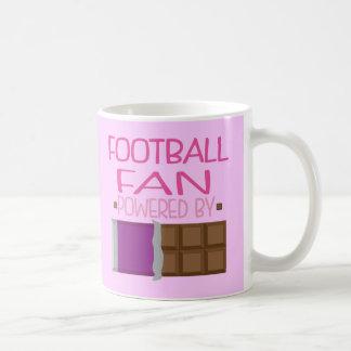 Cadeau de chocolat de passioné du football pour mugs