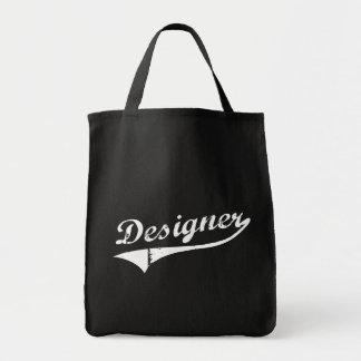 Cadeau de concepteur de décorateur intérieur sac en toile épicerie