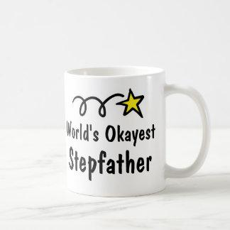 Cadeau de tasse de café de beau-père d'Okayest du