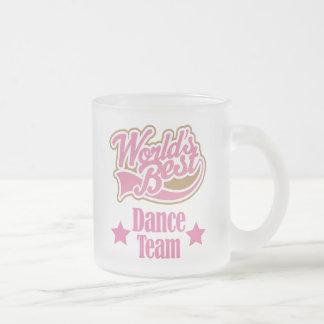 Cadeau d'équipe de danse (mondes meilleurs) tasses