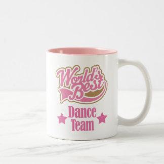 Cadeau d'équipe de danse (mondes meilleurs) mug