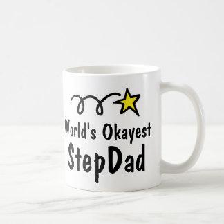Cadeau drôle de tasse de café du StepDad |
