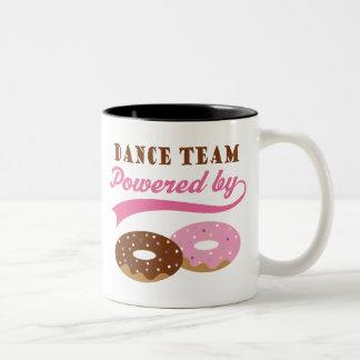 Cadeau drôle d'équipe de danse tasse à café