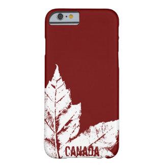 Cadeau frais de feuille d'érable du Canada de cas