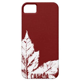 Cadeau frais de feuille d'érable du Canada de cas  Coques Case-Mate iPhone 5