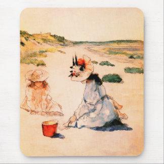 Cadeau Mousepad de beaux-arts du jour de mère Tapis De Souris