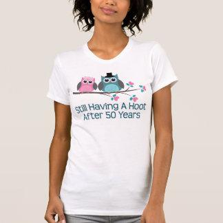 Cadeau pour la cinquantième huée d'anniversaire de t-shirts